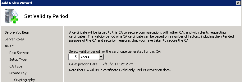 Certificates for exchange 2010 using internal ca zedan it blog on the certificate database location leave the defaults then click next yadclub Images