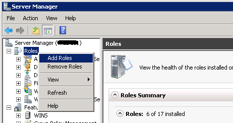 Certificates for exchange 2010 using internal ca zedan it blog on the next screen before you begin click next then on the server roles screen select active directory certificate services yelopaper Gallery