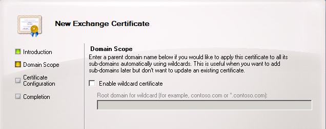Certificates for Exchange 2010 using internal CA | Zedan IT Blog