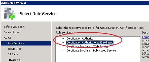 Certificates for exchange 2010 using internal ca zedan it blog if your server doesnt have iis installed it will tell you that it will install it for you click add required role services then click next yadclub Image collections