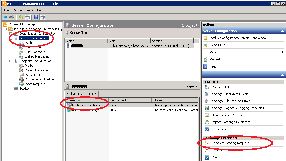 Certificates For Exchange 2010 Using Internal Ca Zedan It Blog